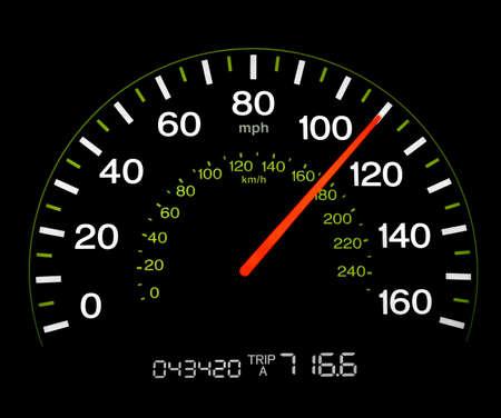 Speedometer - 100 MPH