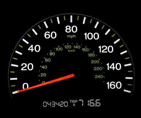 mph: Speedometer - 0 MPH