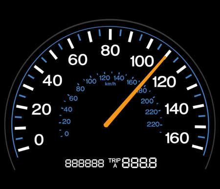 kilometraje: Indicador de velocidad - Totalmente ajustable