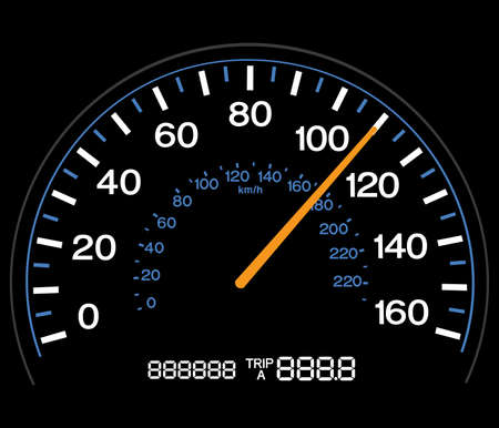 mileage: Speedometer - Completely Adjustable