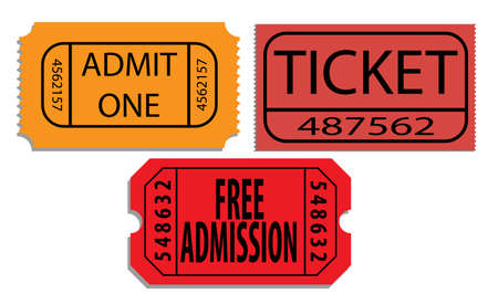 admit: Tickets