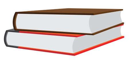 Gestapelde boeken Stockfoto - 4243958