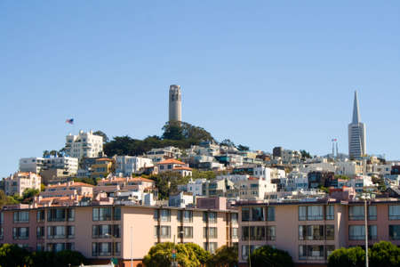 A view of San Francisco, USA.