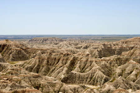Badlands intern Park in Zuid-Dakota, Verenigde Staten.  Stockfoto - 7618566