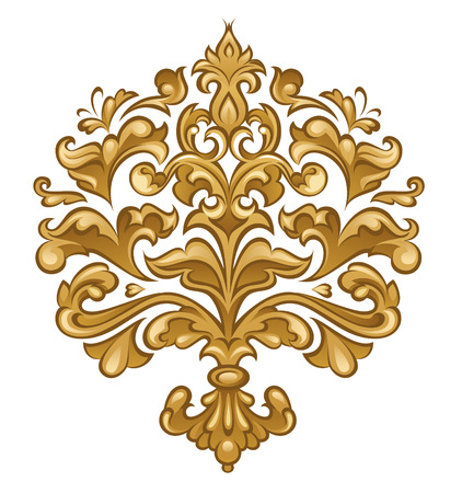 Baroque floral Stock Vector - 7075467