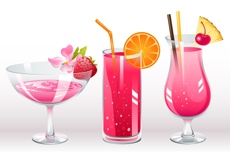 berries cocktails