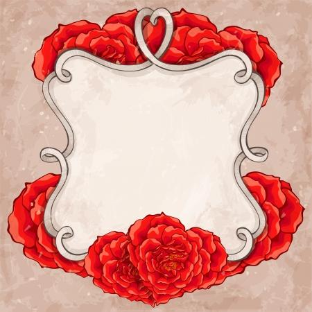 Rode rozen kader