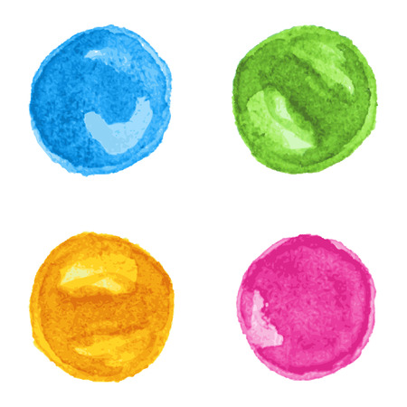 rounds: Watercolor rounds