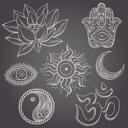 jainism: Spiritual symbols