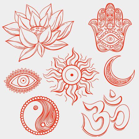mantra: Spiritual symbols