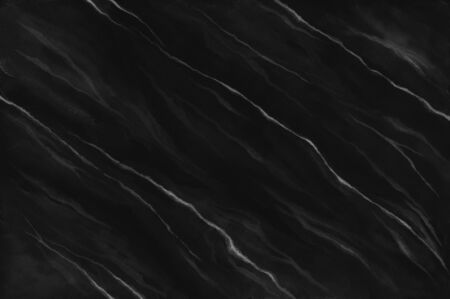 Black watercolor marble background. Hand drawn monochrome marble effect background.
