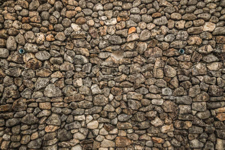 stone brick wall texture background. Stock Photo