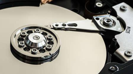 harddisc: details of a internal hard drive