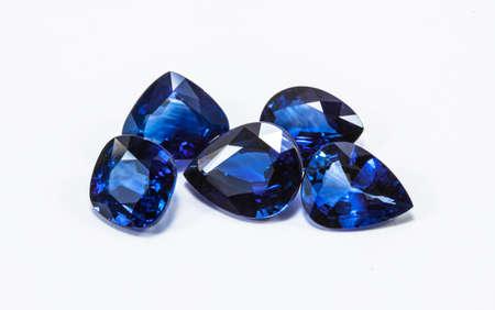 Grupo de los zafiros azules Foto de archivo - 20068112
