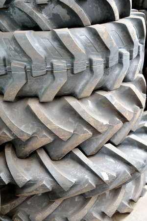 A Picture Of Car tire close - up Stock Photo - 16616142