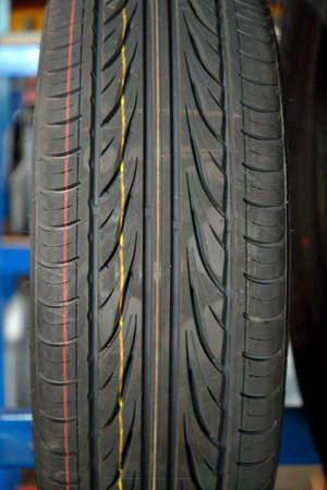 A Picture Of Car tire close - up photo