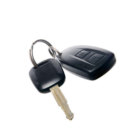key: Car Key. Car key with remote control.