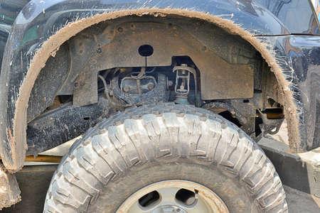 4 wheel: Muddy rueda