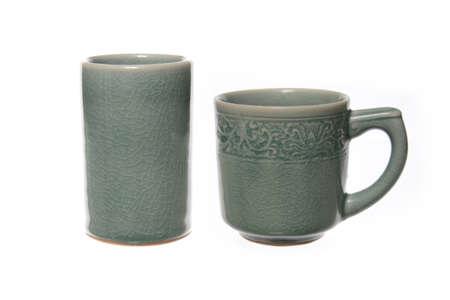 Ceramic coffee mug.