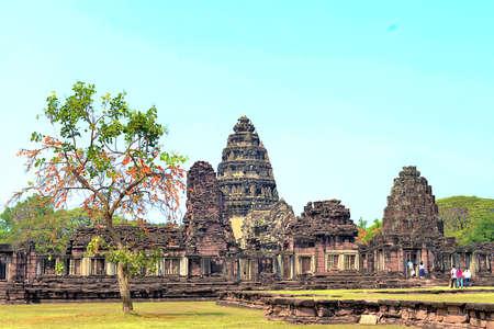 hin: Prasat Hin Phi mai, Historical Park Phimai Khmer Sanctuary,one of important religious sanctuary,korat,thailand