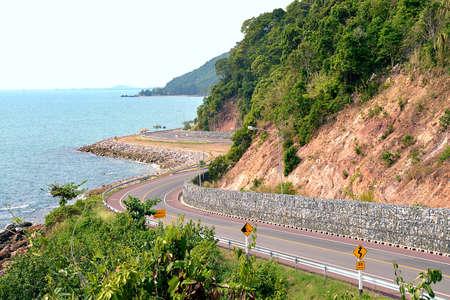 Coastal Road by the Sea photo