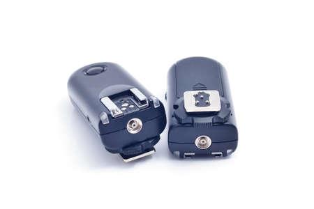 トリガー: Wireless Trigger, Isolated on White Background 写真素材