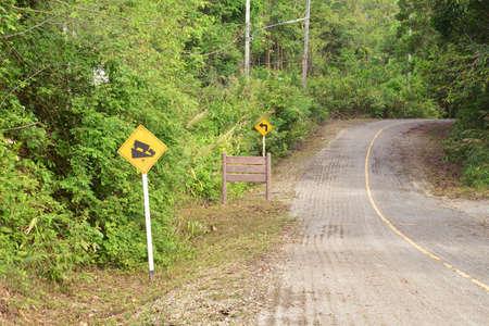 steep: An Steep sign symbol warning dangerous . Stock Photo