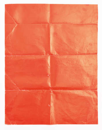 scrunched: Red paper texture