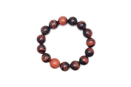 bracelet: bracelet stone on white background
