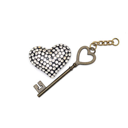 nostalgy: Key with the heart as a symbol of love