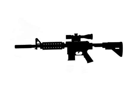 assault: Assault rifle. Automatic fire rifle