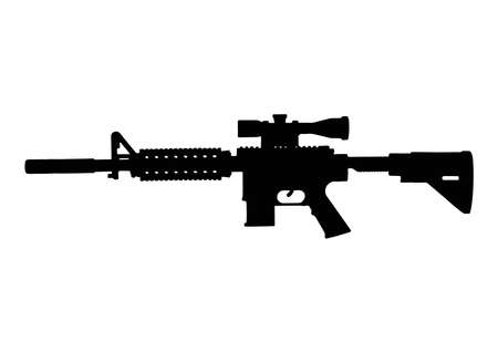 Assault rifle. Automatic fire rifle