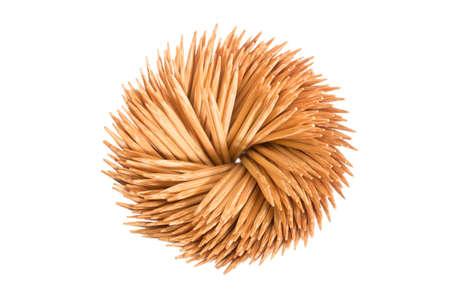 toothpick: Toothpick isolate on white background . Stock Photo