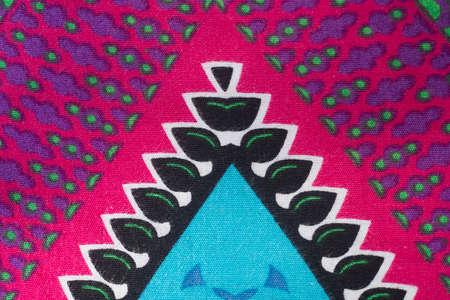 flashy: Patterns on colorful fabrics flashy.