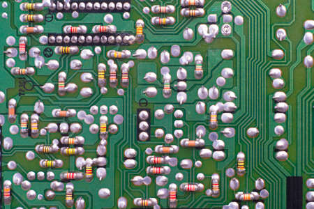 Electronic circuit boards Standard-Bild - 118438576