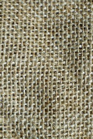 Closeup textured and surface of sackcloth Stock Photo
