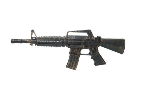 Assault rifle. Automatic fire rifle , toy