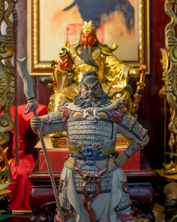 Guan Yu, Chinese s god of faith Gratitude Loyalty And Courage.