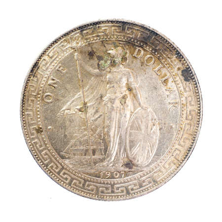 1907 United Kingdom (UK) 1 Dollar British Trade Dollar