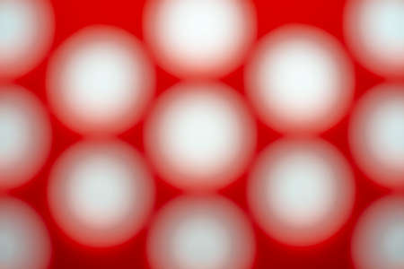 Digital illustration abstract light of bokeh, Light shines through many holes. Reklamní fotografie