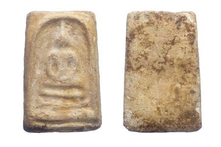 Buddha amulets,  Phra Somdej Bang Khun Prom, Bangkok Thailand