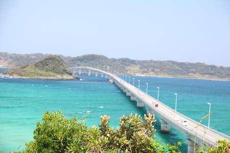 longest: Tsunoshima Ohashi in Japan