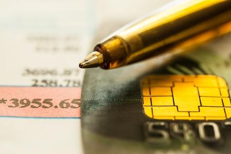 micro ship card Stock Photo