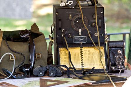 MURCIA, SPAIN - OCTOBER 15:  Military field equipment. Historical military reenacting on October 15, 2011 in Murcia, Spain. Stock Photo - 11652888