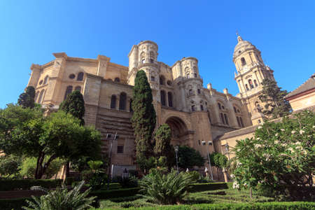 Malaga Cathedral in Andalusia, southern Spain  photo