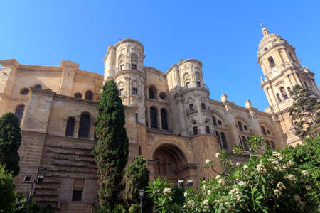 Malaga Cathedral in Andalusia, southern Spain  Stock Photo