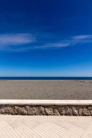 Esplanade on a sunny day in Malaga, Spain Stock Photo - 15734110