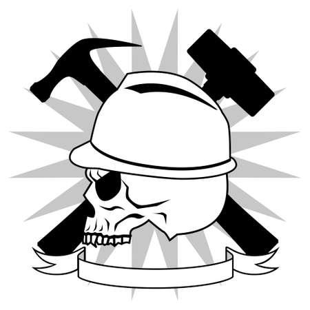 死と木工 - 黒と白