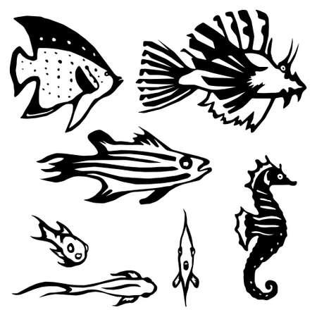 Stylized Reef Fish