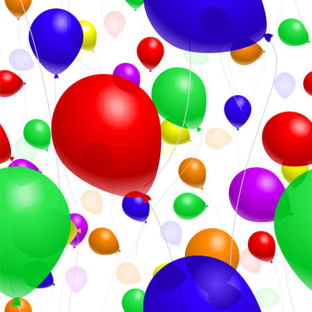 Balloon background Stock Vector - 4734268